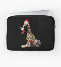 Christmas  Giraffe  Laptop Sleeve