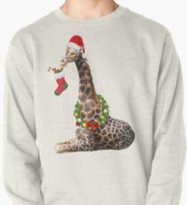 Christmas  Giraffe  Pullover