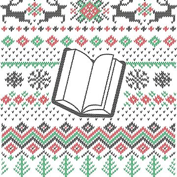 Christmas for book lovers - reading by Juttas-Shirts