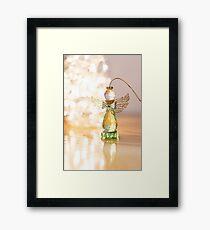 Green Angel Framed Print