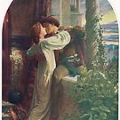 Romeo and Juliet by Frank Dicksee R.A. (1853-1928) by artfromthepast
