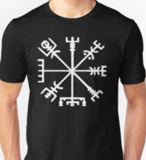 Vegvísir (Viking Compass) Unisex T-Shirt