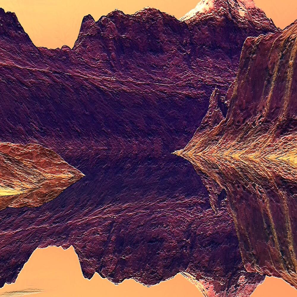 Canyon Walls by Hugh Fathers