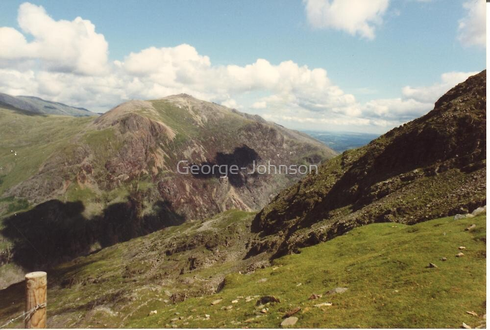 Eagle shadow from Snowdon by George-Johnson