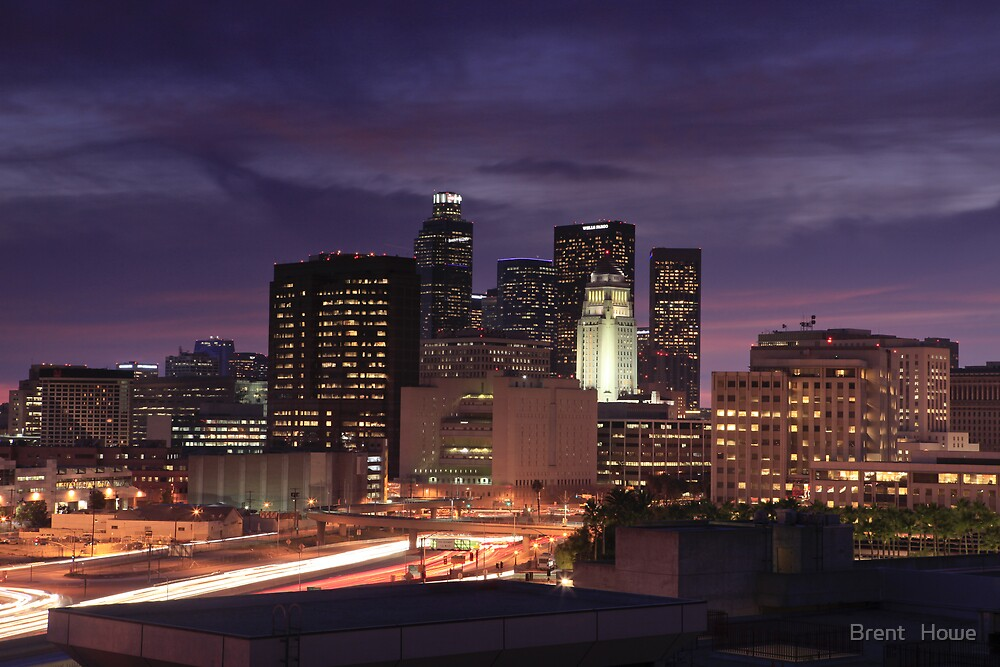 Los Angeles by Brent   Howe