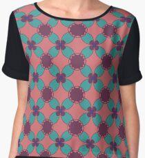 Symmetric pattern Chiffon Top