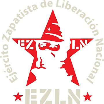 EZLN Zapatistas Red Star & Slogan by NeoFaction