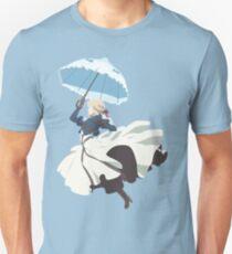 Violet Evergarden - Parasol - Minimalist Art Unisex T-Shirt