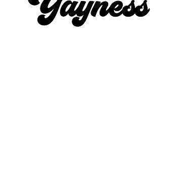 Yayness Yay Fun Slogan Shirt by No-Leg-Bones