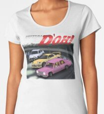 Initial D'oh  Women's Premium T-Shirt