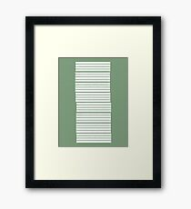Build Framed Print