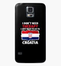 Kroatien Lustiger Spruch Hülle & Klebefolie für Samsung Galaxy