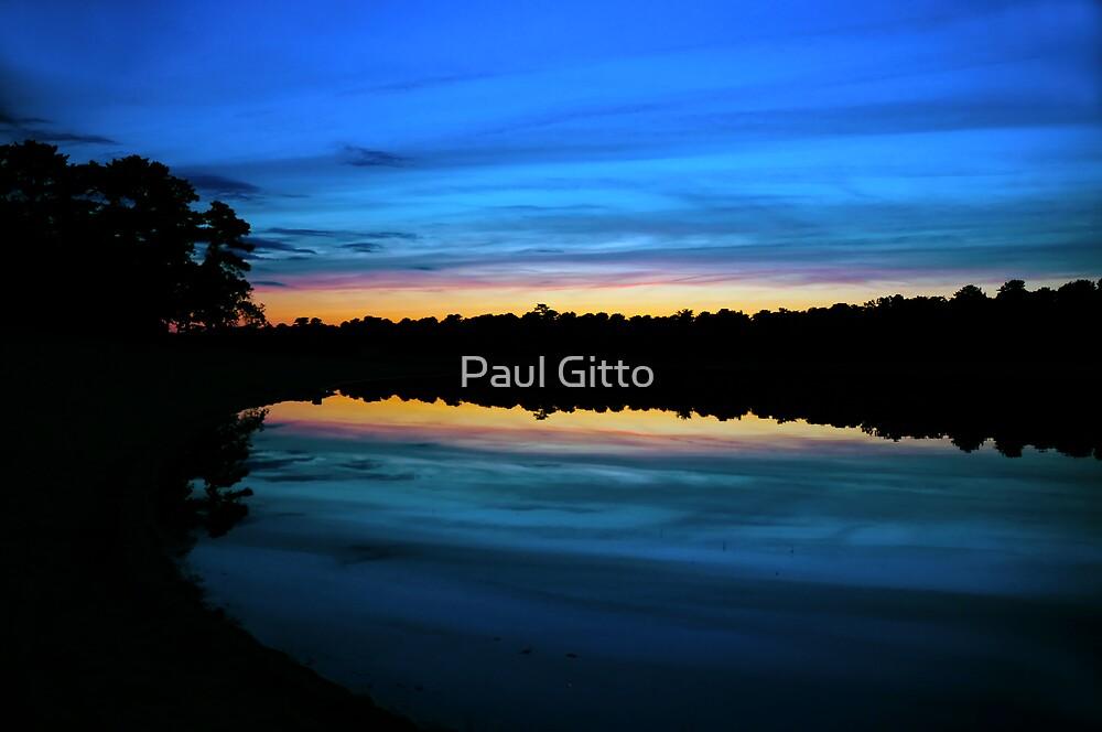 Blue Dusk by Paul Gitto