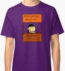 Lucy Van Pelt: The Doctor Is In Classic T-Shirt