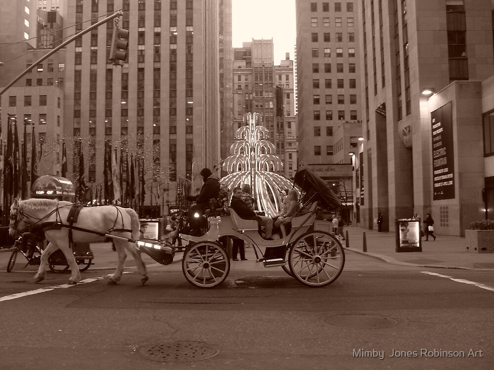 """"""" a fairytale in manhatten"""" by Mimby Jones Robinson Esquire"""