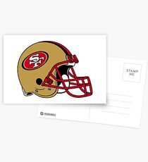 San Francisco 49ers . Postcards
