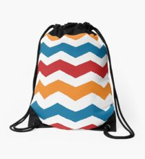 Charizard Chevron Drawstring Bag