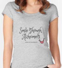 Alzheimer's Awareness Women's Fitted Scoop T-Shirt