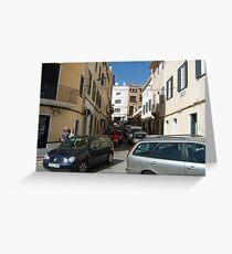 Mahon Street Scene Greeting Card