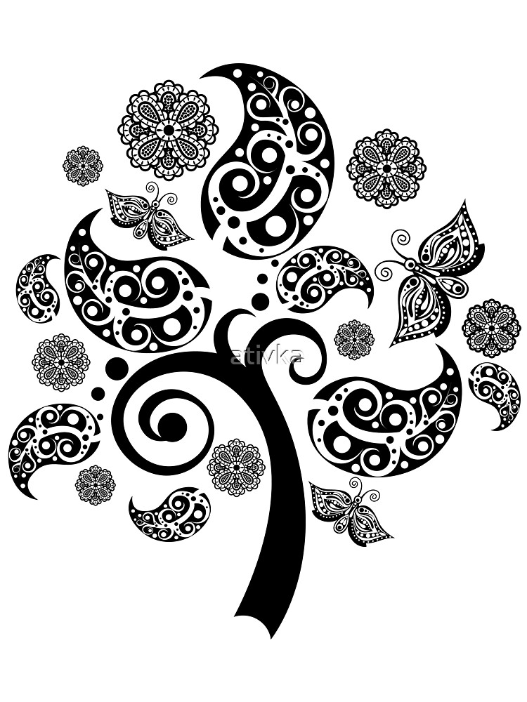 beautiful tree by ativka