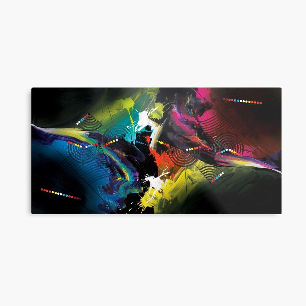 Abstract Art Britto - QB291 Metal Print
