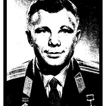 Yuri Alekseyevich Gagarin by IMPACTEES