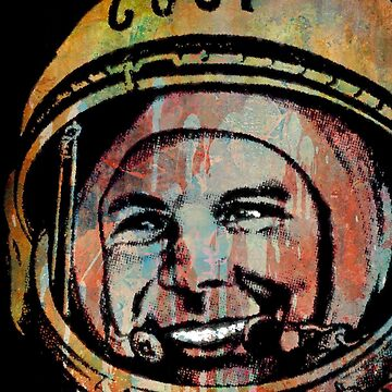 YURI GAGARIN-CCCP by IMPACTEES