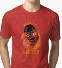 Flyers Mascot Gritty Tri-blend T-Shirt
