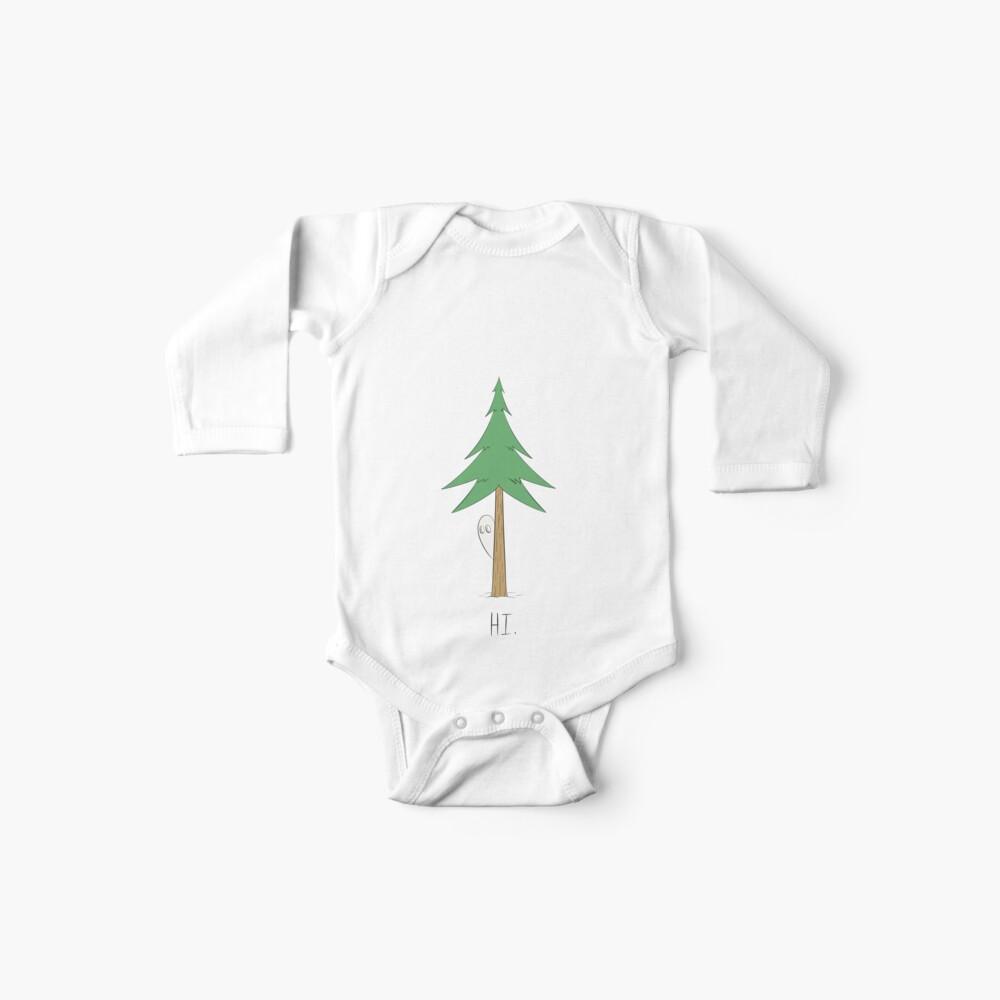 Fantasma de pino Body para bebé