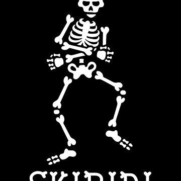 #SkibidiChallenge Skibidi challenge meme dancing skeleton by LaundryFactory