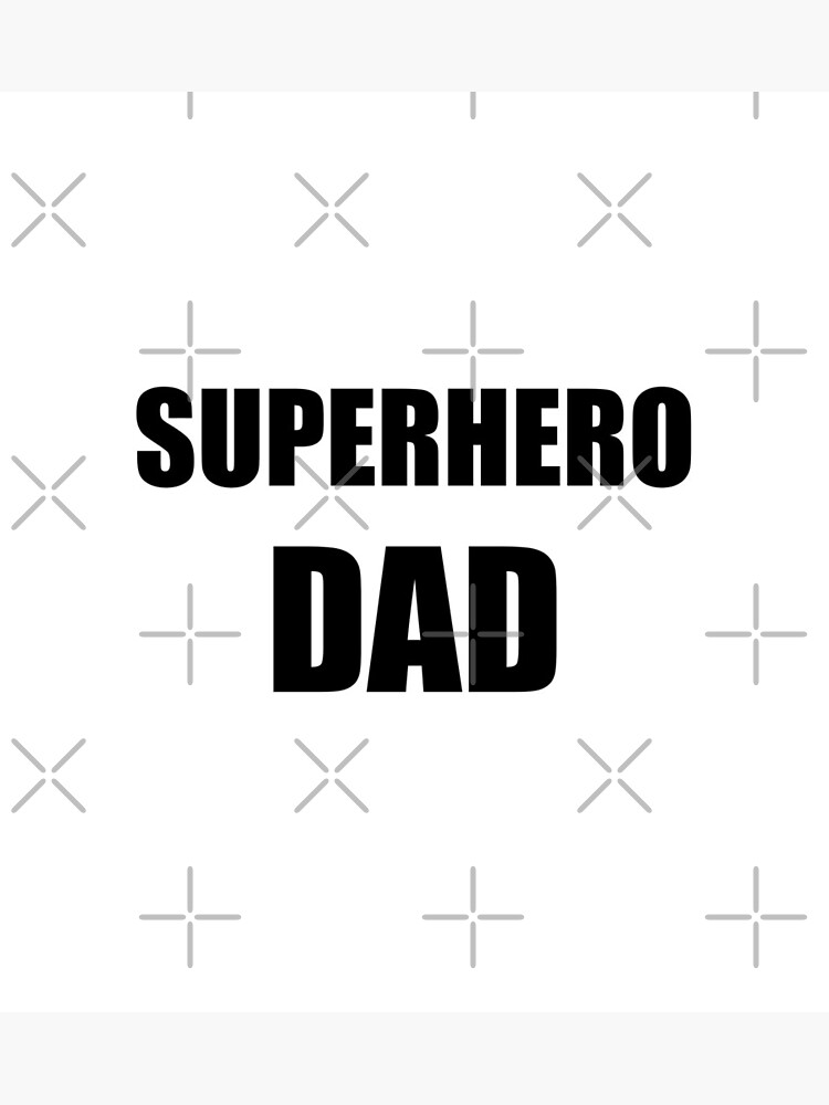 Superhero Dad Funny Gift Idea by FunnyGiftIdeas