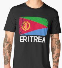 Eritrean Flag Design | Vintage Made In Eritrea Gift Men's Premium T-Shirt