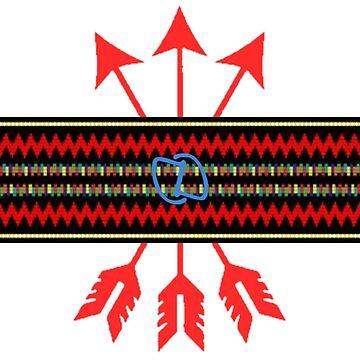 Arrows Stripe by DahnDahlas