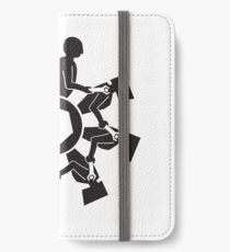 automation chain reaction  iPhone Wallet/Case/Skin