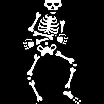 Skibidi challenge meme dancing skeleton dance by LaundryFactory