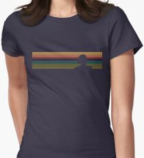 13's Silhouette - Doctor Who Women's Fitted T-Shirt