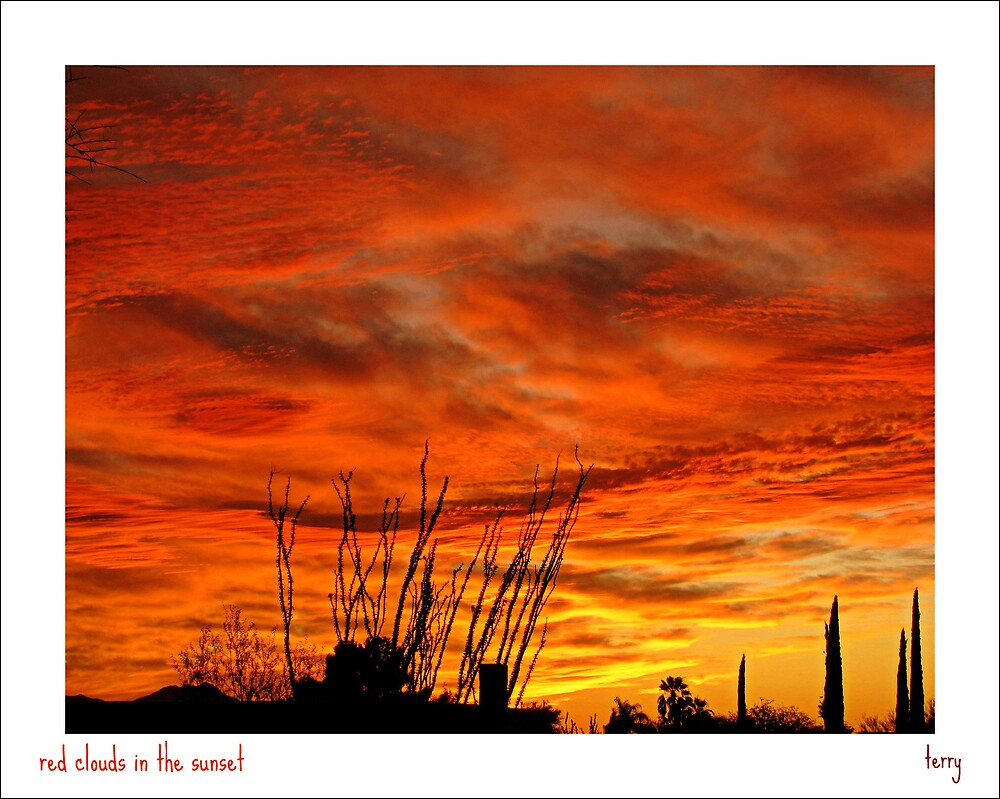 Sunset in the Pueblo by Terry Temple