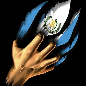 Guatemalan in Me Guatemala Flag DNA Heritage Roots Gift  by nikolayjs