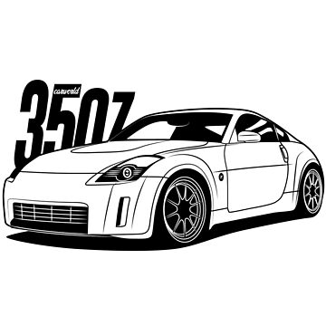 Nissan 350Z Best Shirt Design by CarWorld