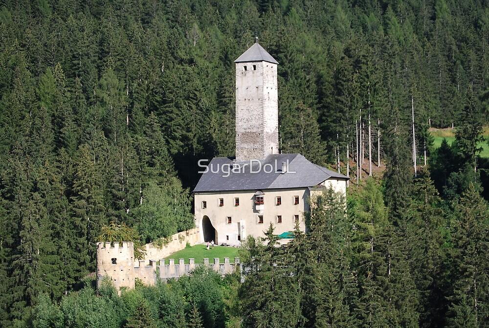Monguelfo's castle II by SugarDoLL