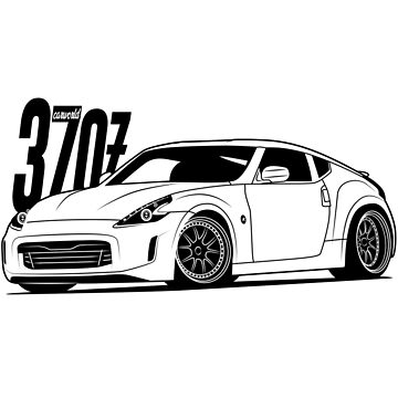 Nissan 370Z Best Shirt Design by CarWorld