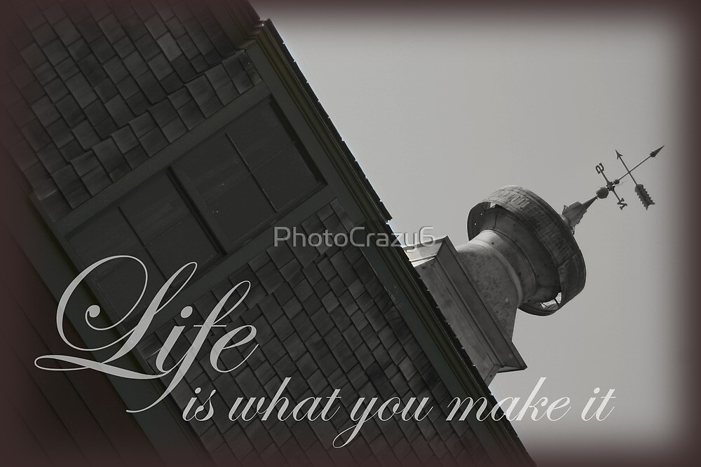 Inspirational quote on an old barn by PhotoCrazy6