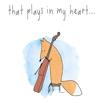 Foxy Plays Violin You Are The Music That Plays In My Heart ... by 108dragons