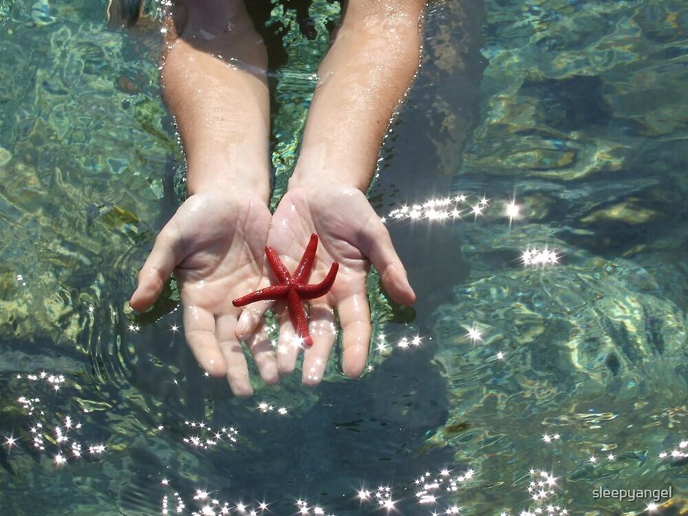 sea-star by sleepyangel