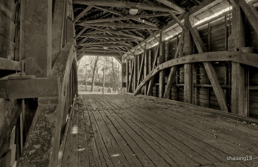 Shearer's Covered Bridge by shawng13