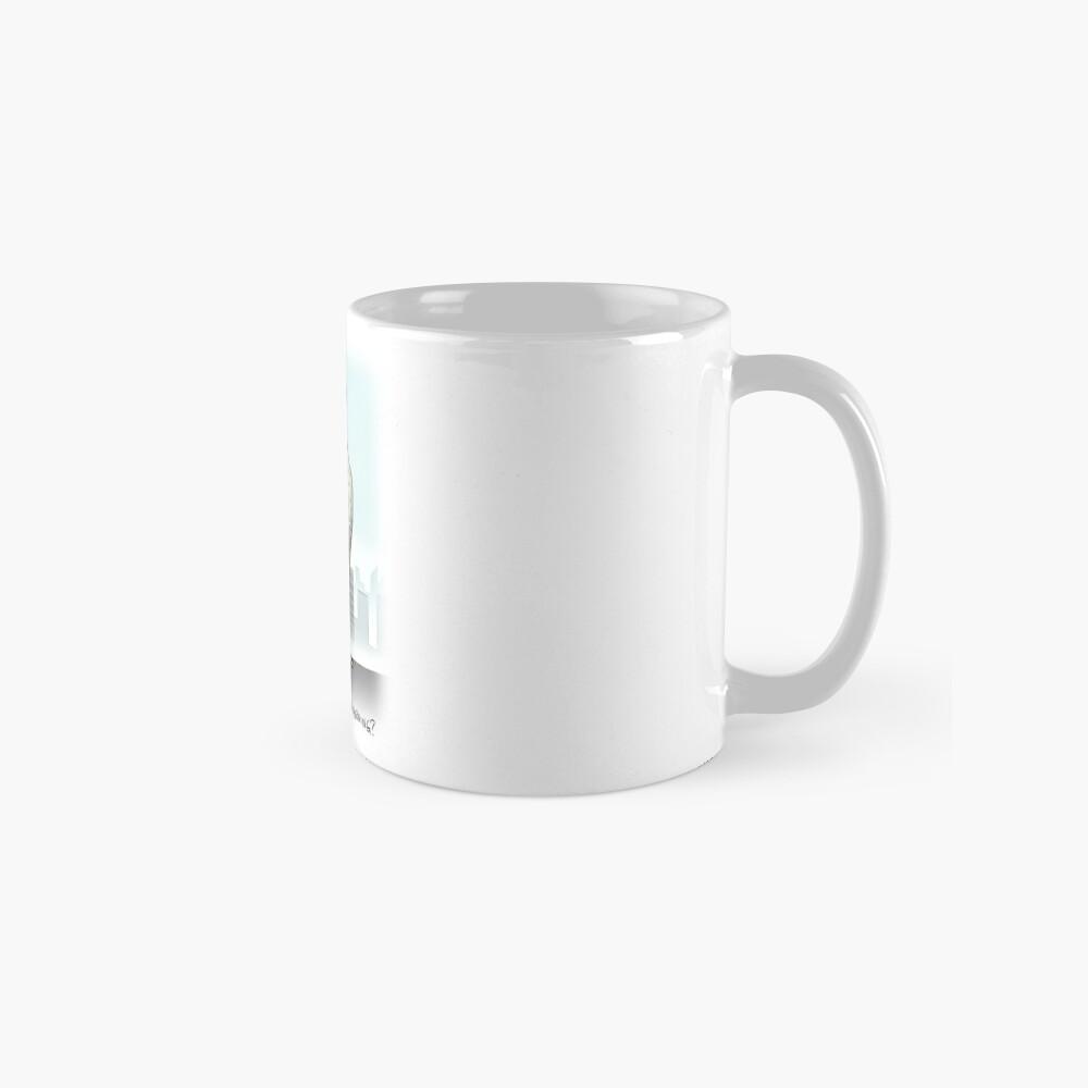 Bad Morning for the Frumpy Falcon Classic Mug