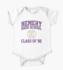 Hemery High School Class of '92 One Piece - Short Sleeve