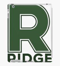 Ridge High School [R Logo] iPad Case/Skin