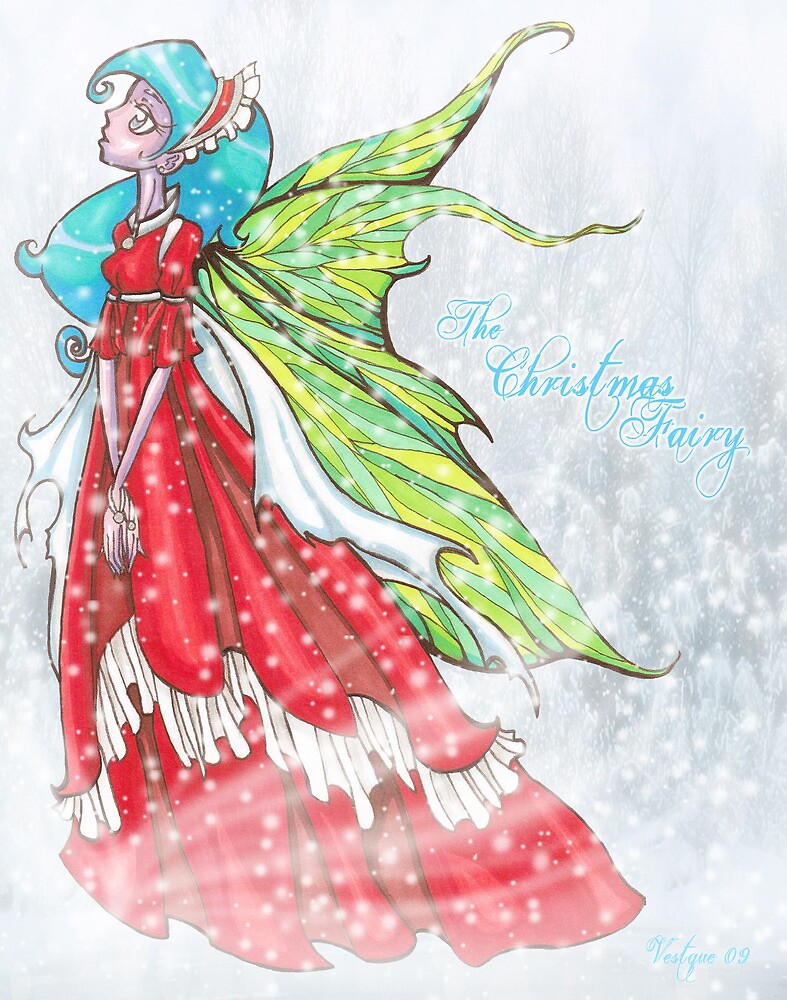 The Christmas Fairy v2 by Vestque