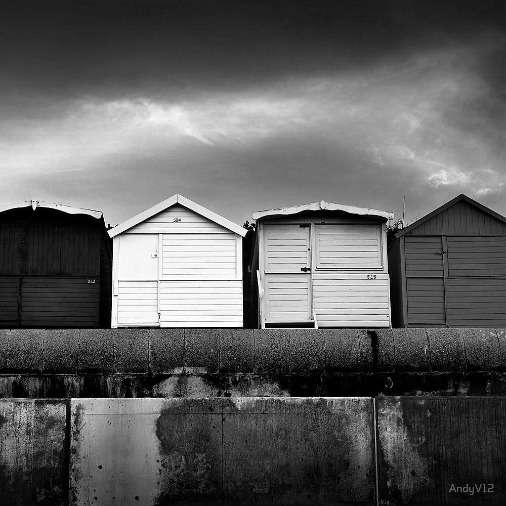 The Usual Suspects Square BW by Andy Freer